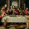 The last supper by Juan De (Vicente) Juanes (Masip)