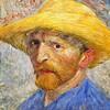 Vincent van Gogh Self Portrait with a Straw Hat - 1887