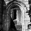 'Norman arch just before noon'