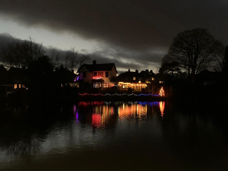 Christmas Eve by Walton Pond