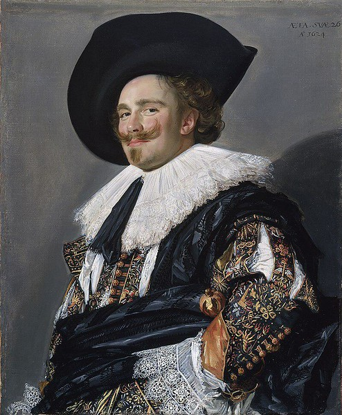 The Laughing Cavalier by Frans Hals