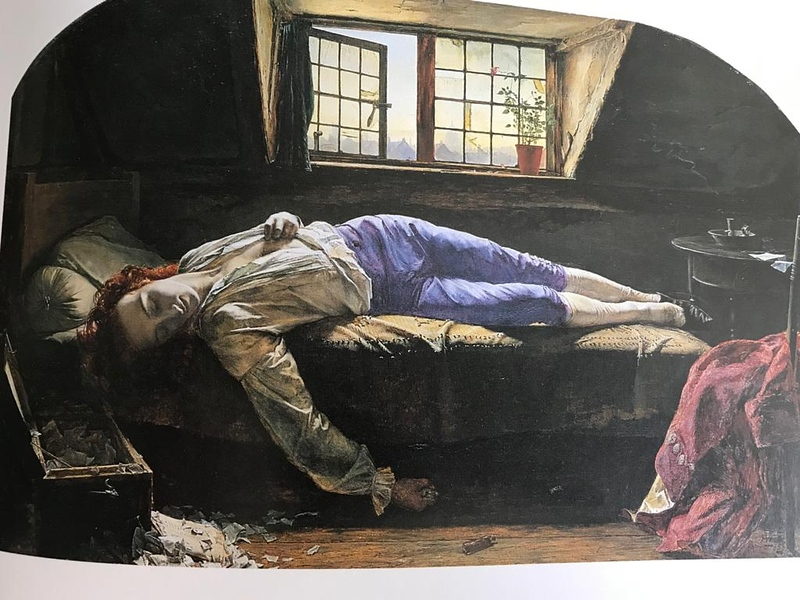 Chatterton by Henry Wallis
