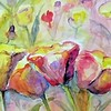 Tulips Spring Flower by Delilah Smith