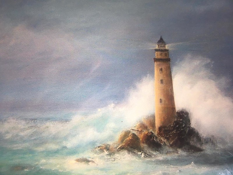 The lighthouse, Anonymous