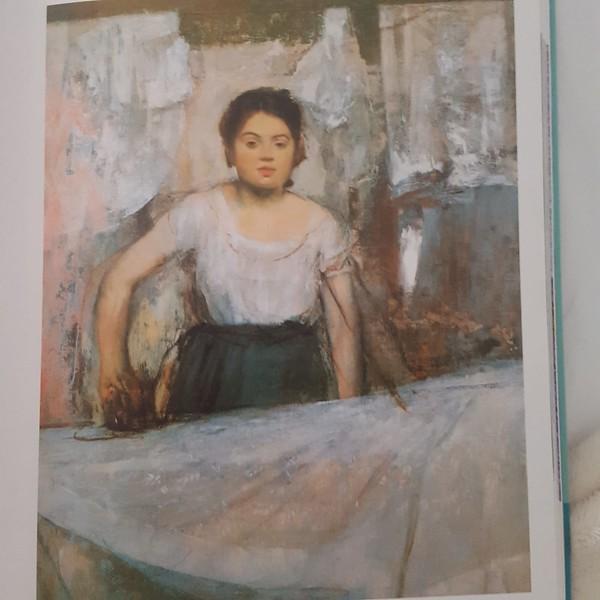 Woman Ironing by Edgar Degas