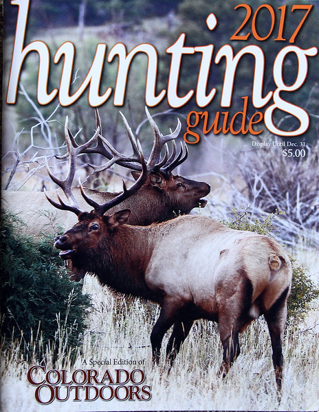 Hunting guide Issue  cover photo