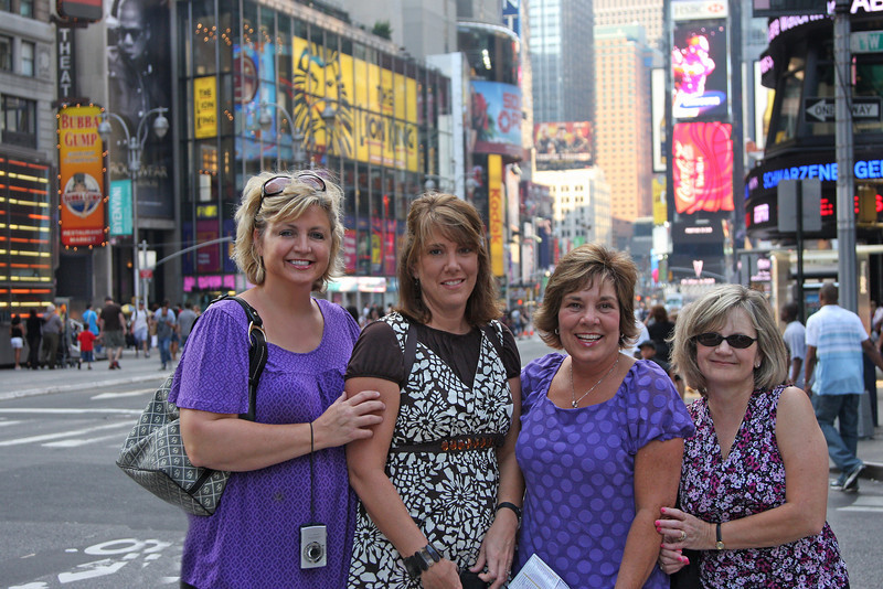 Me and My friends on Times Square