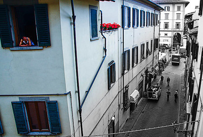 San Giminano / Florence 1st June 12