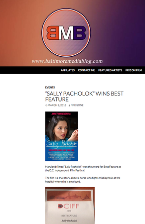 Sally Pacholok Wins