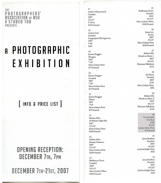 A Photographic Exhibition