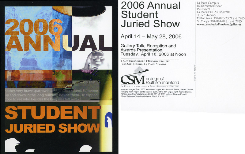 Annual Student Juried Art Show
