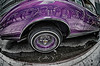 Photography by Maureen Begin : NYC_ - Purple Wheel Refections