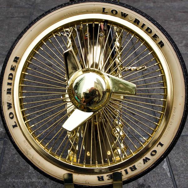 Photography by Rich Haig :  -  Rich Haig - Low Rider spare tire