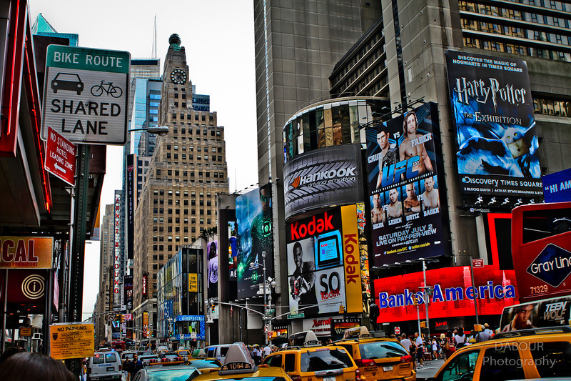 Photography by Dave Dabour :  - Times Square HDR1