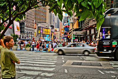 Photography by Dave Dabour :  -  Busy Streets