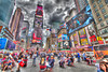 NYC Times Square  - It\'s dirty, it\'s fast paced, and it\'s where it\'s at.  HDR image brings out the colors.
