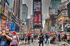 Photography by Kenneth E. Lee :  -  Duffy Square Looking North