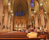 Photography by Carol A. Marinas : New York City -  Inside St. Joseph\'s Church
