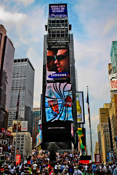 Photography by Dave Dabour :  -  Times Square HDR3