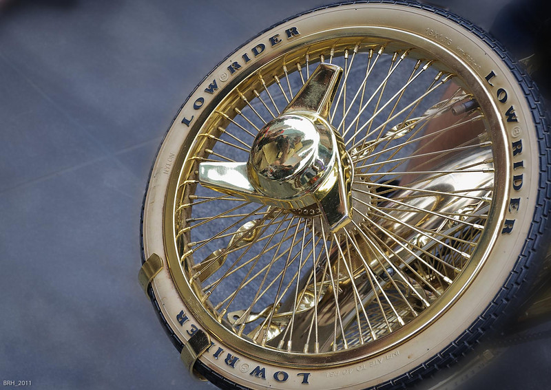 Photography by Bruce Himelman :  -  Low Rider Wheel