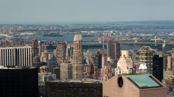 Photography by Carol A. Marinas : New York City -  Looking North from Top of the Rock
