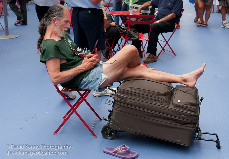 Photography by David Kenny : David Kenny -  -  Chillin\' in Times Square