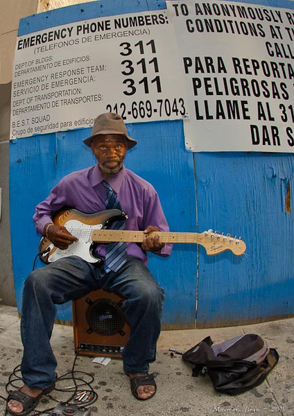 Photography by Maureen Begin : NYC_ - Strummin\' to Life