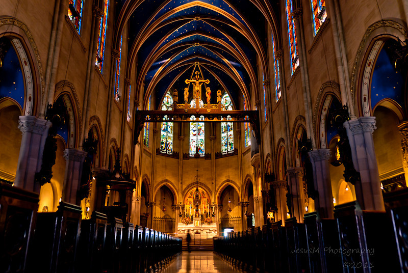 """Photography by Jesus Martinez \""""Zeus\"""" : New York - Touch of Hdr in St.Mary\'s"""