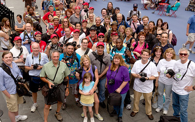- Rick Sammon\'s Times Square Shooting Session, Group Shot, by Jeremy Pollack