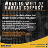What is writ of habeas corpus