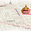 Sinulog 2014 grand parade route (Graphics by Sun.Star Cebu)