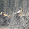 Elbow River Diversion work
