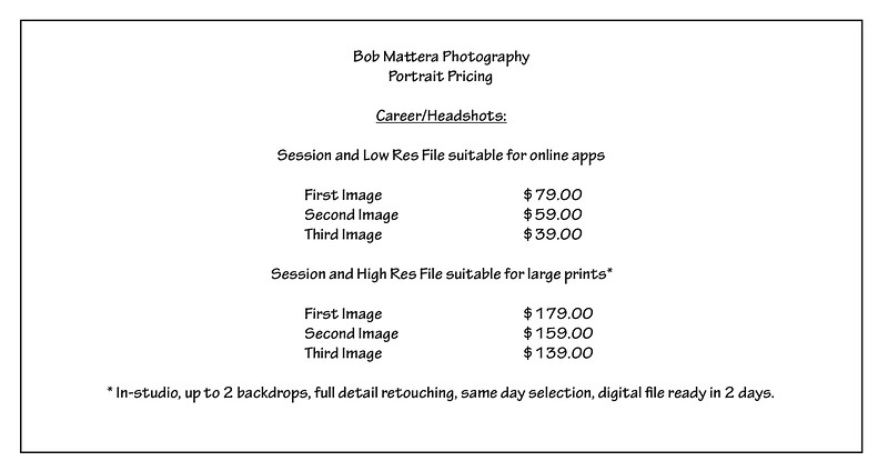 Career Headshot  Pricing.pages