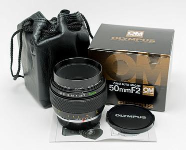 OM 50mm F/2 Macro