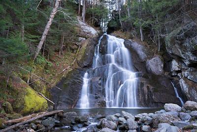 Moss Glen Falls, Low Water (November)