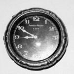 Phinney-Walker accessory clock - rim wind