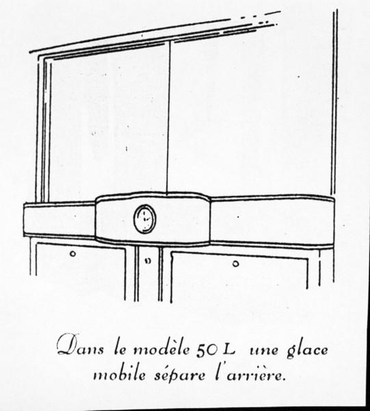 Clock location in Limo (29-50L)