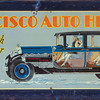 Francisco Heater Tin Sign (sold for $1,850 at auction - Dec. 2012)