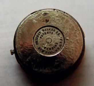 Phinney-Walker accessory clock - rear