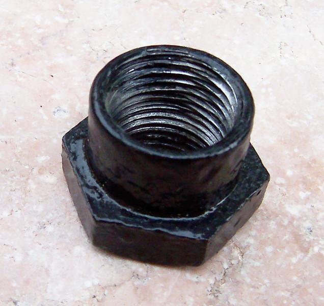 1 in. hex shoulder nut for front leaf spring shackle bolt