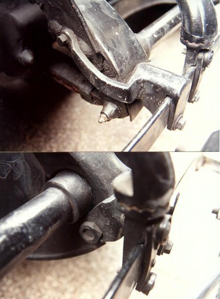 Master front bumper brackets