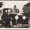 Circa 1929 photo of 29 Buick sedan w/2 bar bumpers
