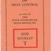 "Marvel Car & Heat Control booklet  # ""T"""