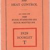 "Marvel Car & Heat Control booklet  # ""T"""