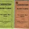 Carburetion Bookletts