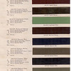 Dupont Color Bulletin No. 1 & 2 - Colour Chip Pg. #2