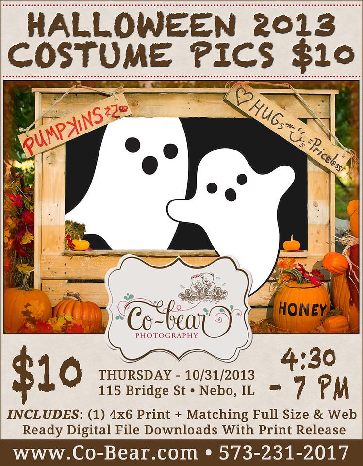 Co-Bear Photography Halloween 2013 Costume Pics