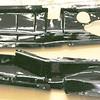 Engine splash pans - both sides (left side on top)