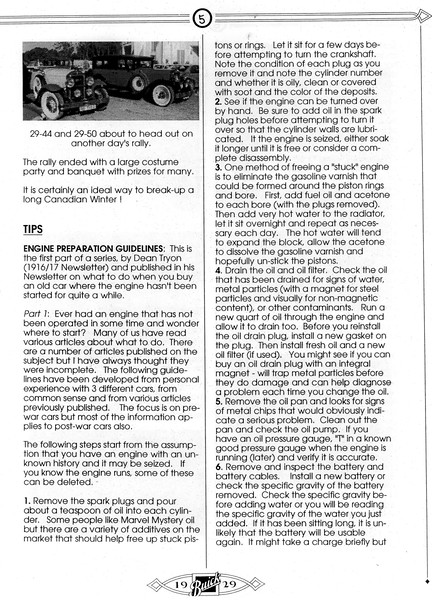 Info on starting an engine that's been sitting for years - Page 2 of 4