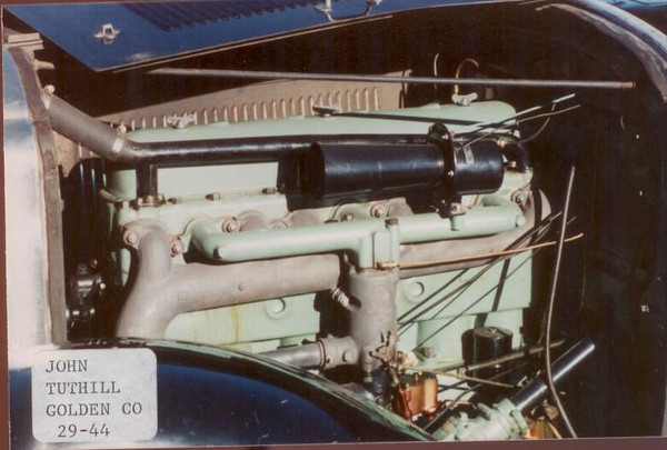 Tuthill's Engine Colour